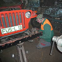 Willys jeep restaurierung 7